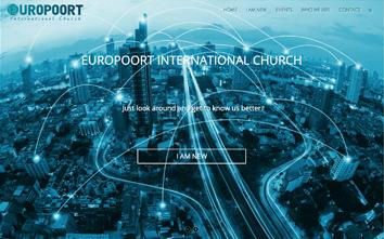 Frentzo - portfolio - portfolio item - website - europoort international church