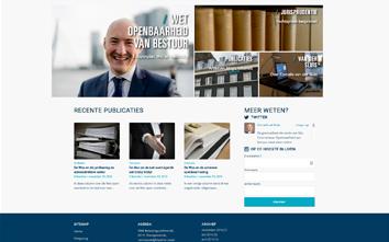 Frentzo - portfolio - portfolio item - website - overheid en openbaarheid